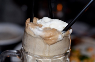 Adult Root Beer Floats at the Sign of the Whale