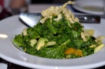 Chopped Kale Salad at the Sign of the Whale