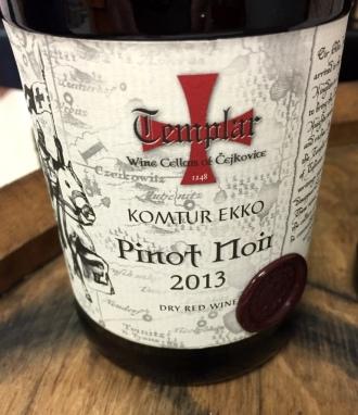 Templar Cellars Komtur Ekko Pinot Noir
