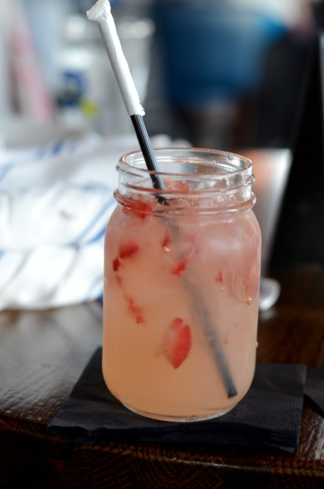 Strawberry Mule at the Sign of the Whale