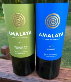 Amalaya Malbec and Torrontes