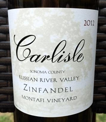 Carlisle Montafi Vineyard Zinfandel