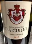 2012 Seigneurs d'Aiguilhe Côtes de Castillon Bordeaux