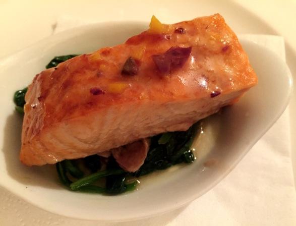 Baked Salmon Fillet