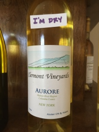 Clermont Vineyards Aurore