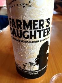 Farmer's Daugther beer