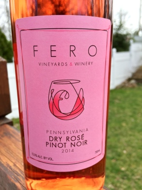 Fero Vineyards Rosé of Pinot Noir