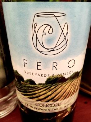 Fero Vineyards Concord