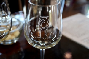 Fero Vineyards Glass