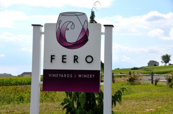 Fero Vineyards Sign