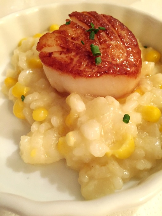 Scallop and Vegetable Risotto