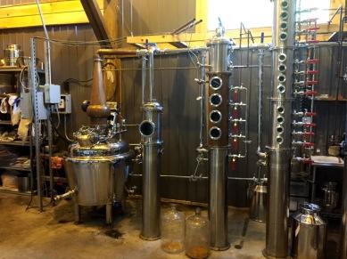 Stills at Hudson Valley Distillers