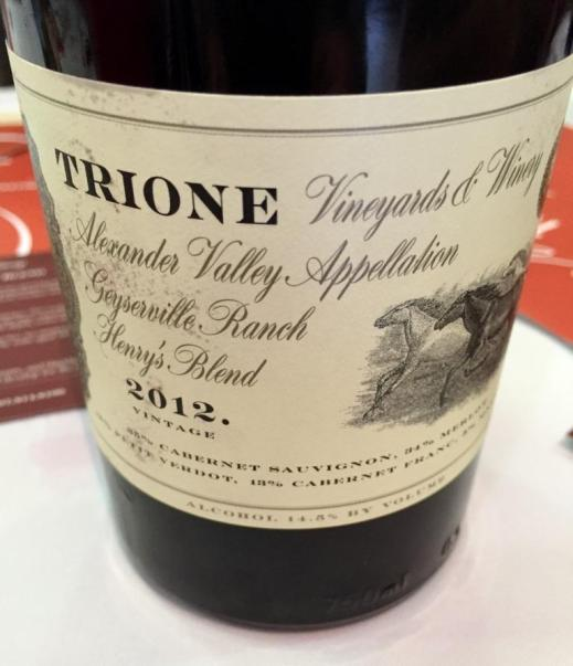 Trione Vineyards Henry's Blend