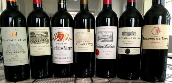 cru bourgeois tasting line up