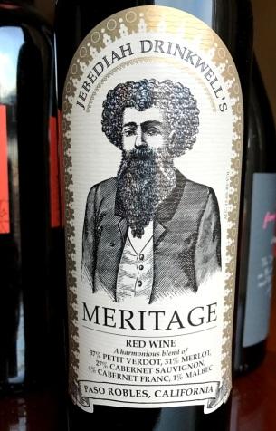 Jebediah Drinkwell's Meritage Red Wine