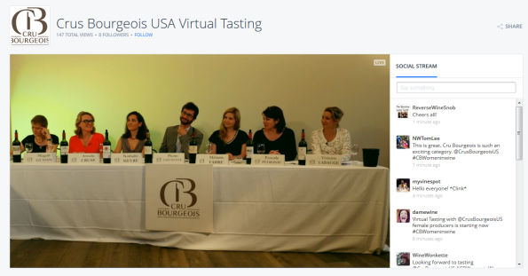 Virtual Tasting Panel Crus Bourgeois