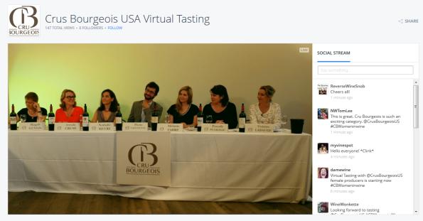 Virtual Tasting Panel Crus Bourgeois