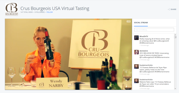 virtual tasting Crus Bourgeois