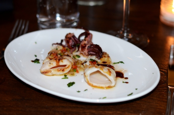 Calamari a la Pancha Tablao SoNo