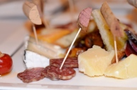 TerraSole charcuterie sausage and cheese