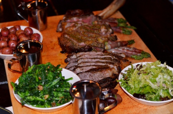 Dirty Tomahawk steak at Tavern 489