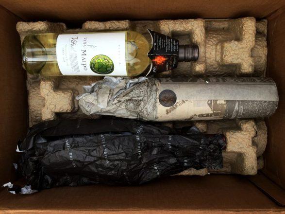 Viña Maipo wines in the box