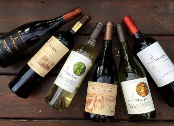 Viña Maipo wines