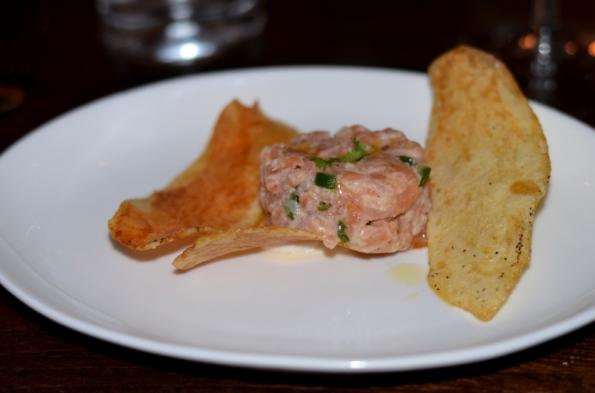Salmon Tartar Tablao SoNo