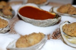 Ttaunton Bay fried oysters sauce