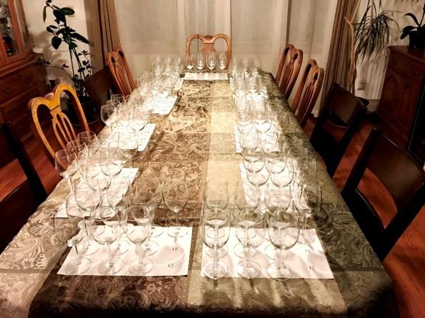 wine tasting ready