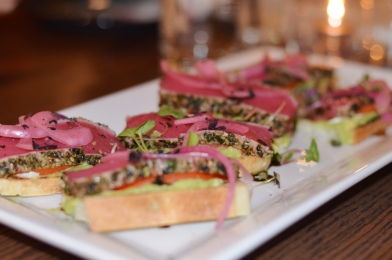 Ahi Bruschetta MIRO Kitchen