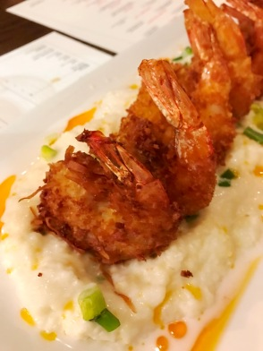 Crispy Shrimp & Grits at MIRO Kitchen
