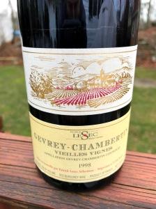 Patrick Lesec Gevrey-Chambertin Vieilles Vignes