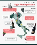 Montepulciano Infographic Italy