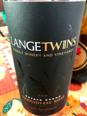 Langetwins Sangiovese Rosé