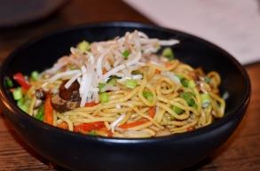 Lo Mein at MIRO Kitchen