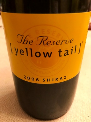 Yellow Tail Shiraz Reserve