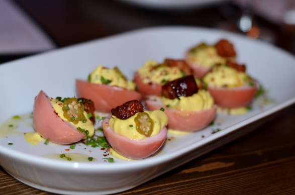 Deviled Eggs at Peaches