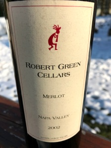 2002 Robert Green Cellars Merlot Napa