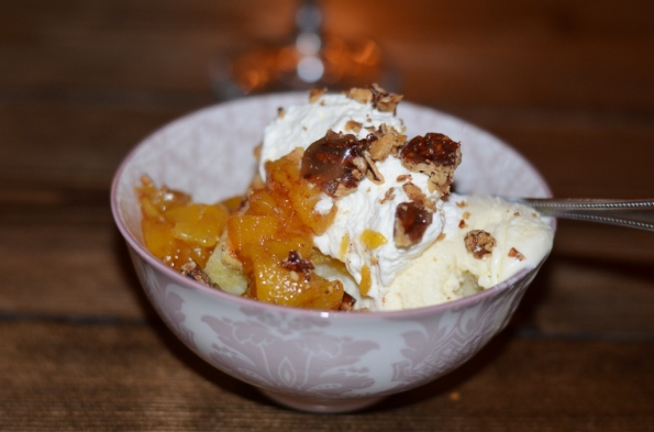Old Fashioned Peach Cobbler at Peaches