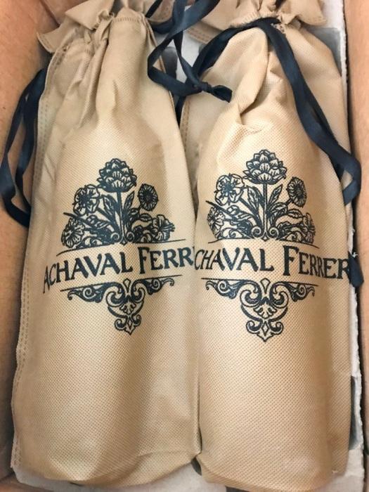 Achaval Ferrer wine bags