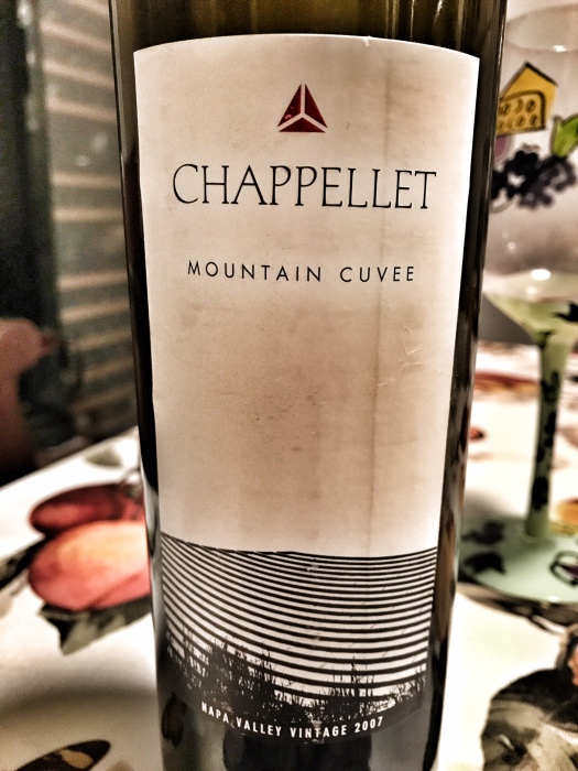 Chappellet Mountain Cuvee