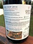 Quinta do Vale Portugal Back Label