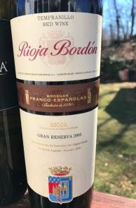 Rioja Bordon Gran Reserva