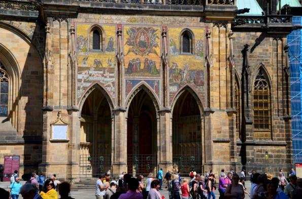 Prague Castle Cathedral Fragment