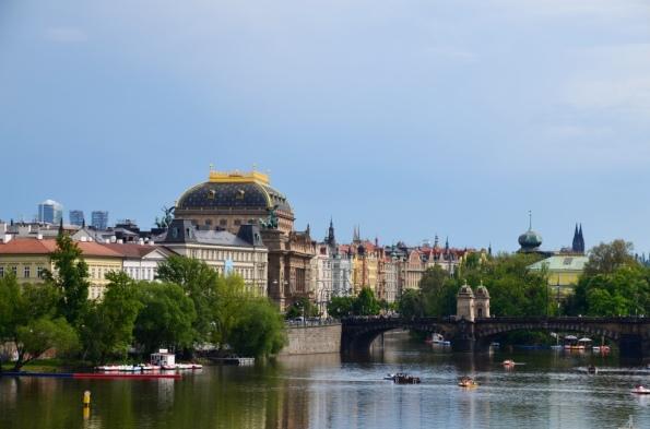 Prague Vltava River