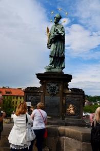 St. John of Nepomuk on Charles Bridge Prague