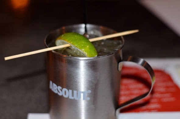 Bourbon Mule at Killer B