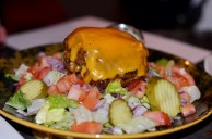 Cheeseburger Salad at Killer B