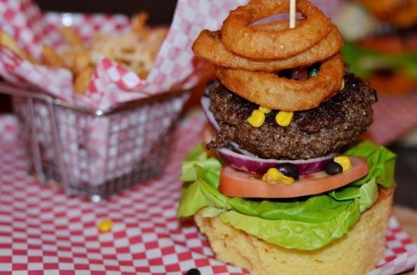 Country Style Burger at Killer B